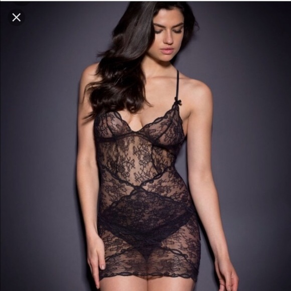 cc483c6b80 Agent Provocateur AP Slip nightie playsuit pajamas